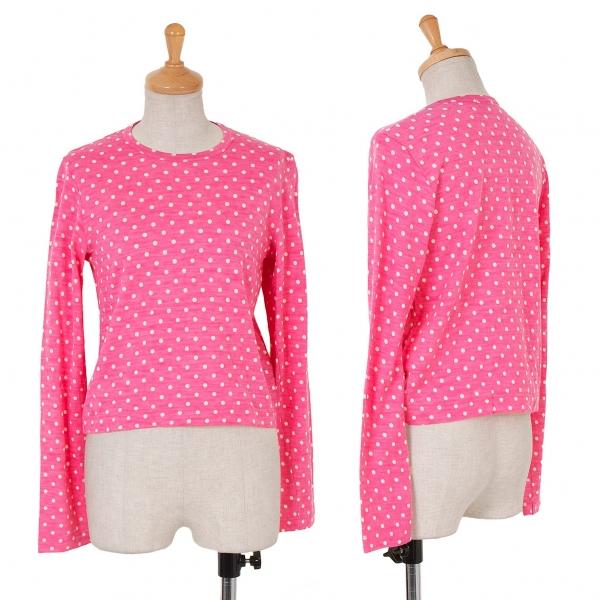 Tricot COMME des GARCONS Polka Dot T Shirt Größe S-M(K-59944)