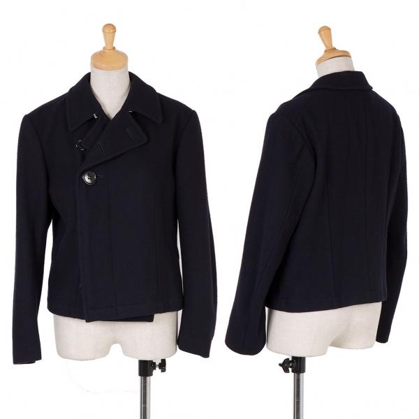 Robe  de chambre COMME DES GARCONS Lana Nailon Chaqueta Talla M (K-60014)  los nuevos estilos calientes