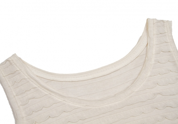 ISSEY MIYAKE HaaT HaaT HaaT Raffle Sleeveless Dress Size 2(K-60161) 9f9280