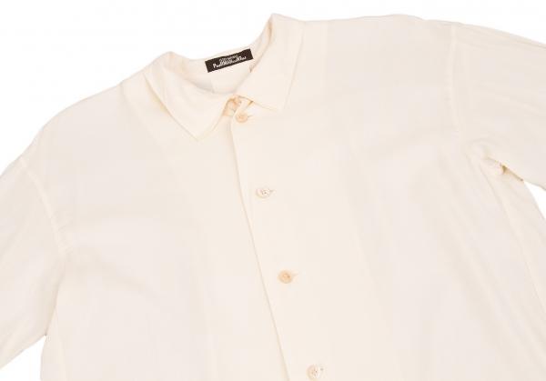 60526 mk open Issey Permanente Shirt kraag maat S Miyake KJlFcT1