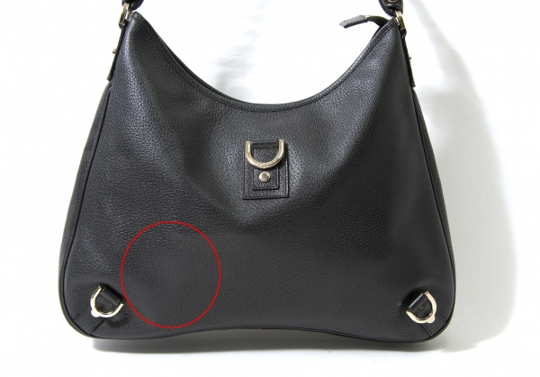 c5a390f2c66 GUCCI-Leather-Hobo-Bag-K-60930 thumbnail 2