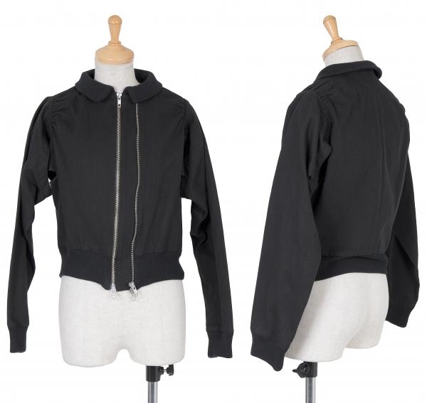 Yohji Yamamoto FEMME Cotton Double Zip Blouson Talla 1(K-61007)   marcas de moda