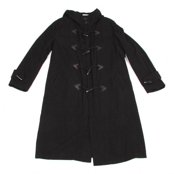 【SALE】ワイズフォーメンY's for men ウール製品染めダッフルコート 黒3