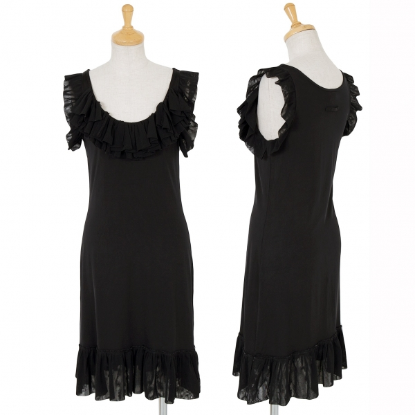 Jean-Paul GAULTIER FEMME Frill Dress Size 40(K-61518)