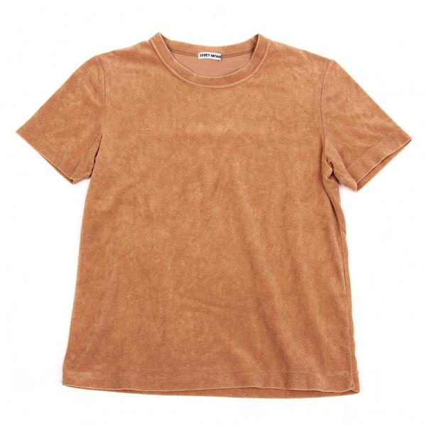 ISSEY MIYAKE Cotton Pile T Shirt Größe M(K-61845)