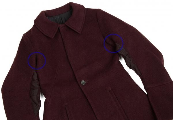 Switching Femme Yohji k Wool 62387 Size Yamamoto Coat Design M qSqtn6pPw