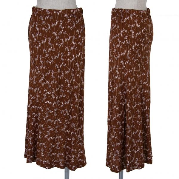Robe de chambre COMME des GARCONS Printed Skirt Size M(K-63209)