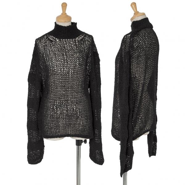 Y's Low Gauge Knit Sweater Größe SM(K-63430)