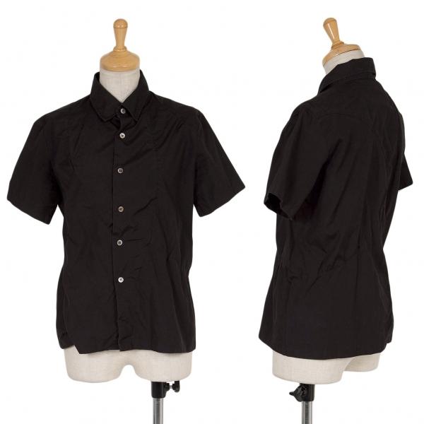 ジュンヤワタナベ コムデギャルソンJUNYA WATANABE COMME des GARCONS 切替デザイン半袖シャツ 黒M位