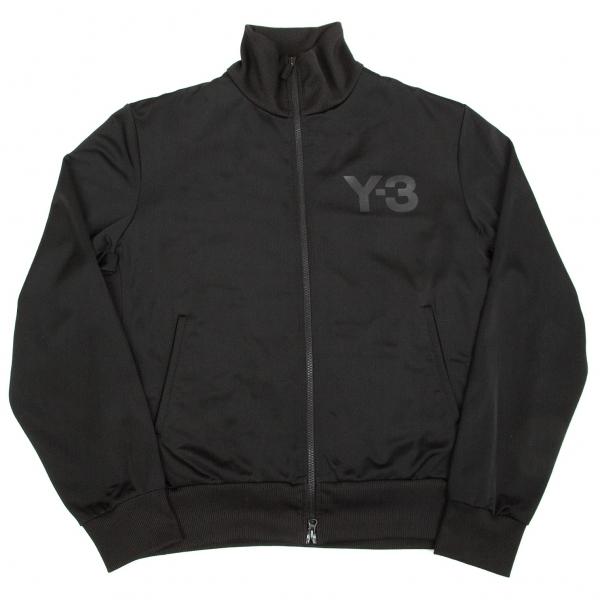ワイスリーY-3 ロゴトラックジャケット 黒L/G