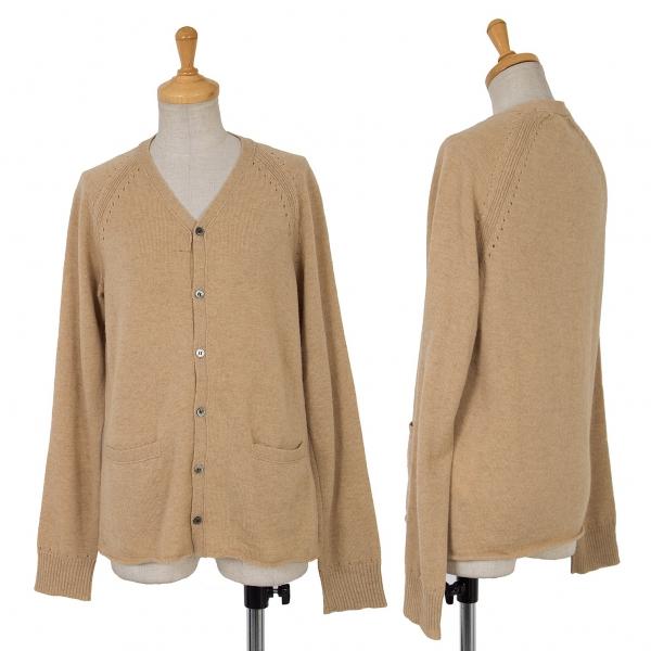 JUNYA WATANABE COMME des GARCONS Camel Knit Cardigan Size S-M(K-65050)