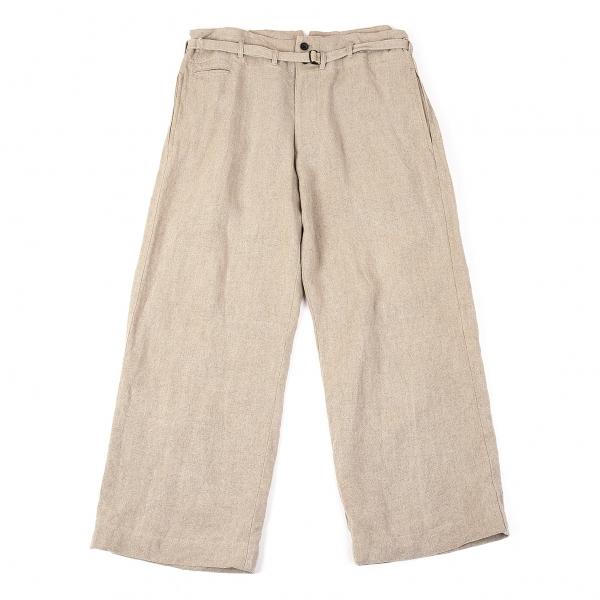Y's for men Linen Wide Pants Size 3(K-65390)