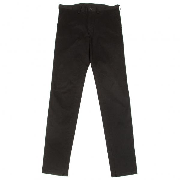 Y's Cotton Gabardine Hem Zip Tapered Pants Size 2(K-65439)