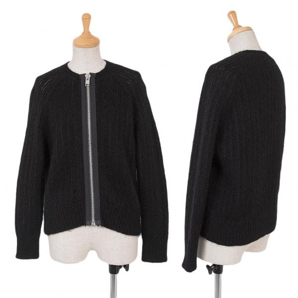 Tricot COMME des GARCONS Zip Design Cardigan Size S-M(K-65460)