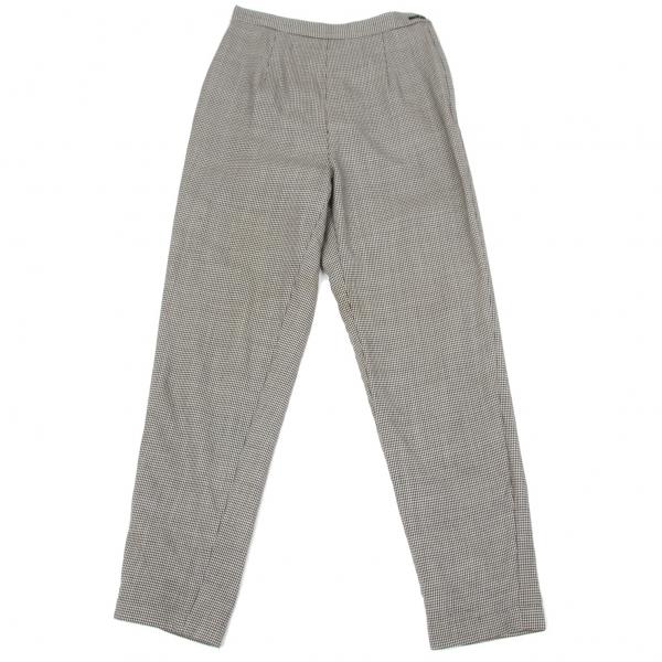 COMME des GARCONS Houndstooth Pants Größe S(K-65491)