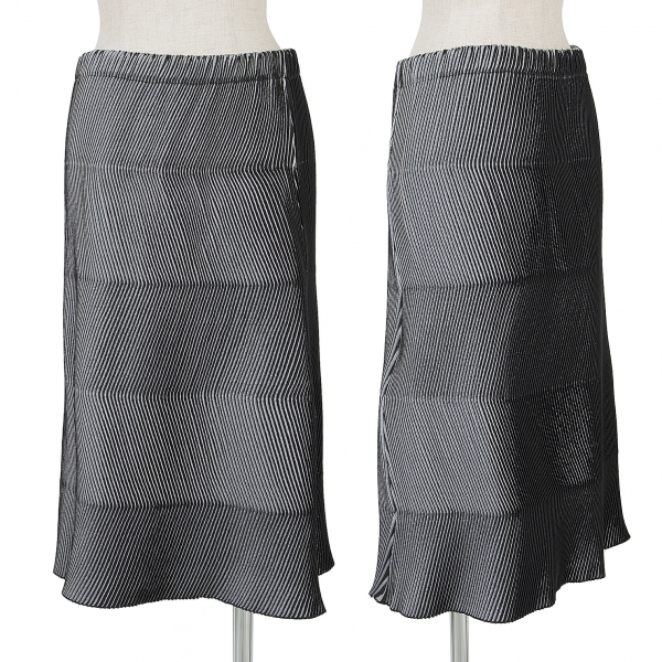 k-65693 Logical Issey Miyake Pleated A-line Skirt Size S-m Skirts