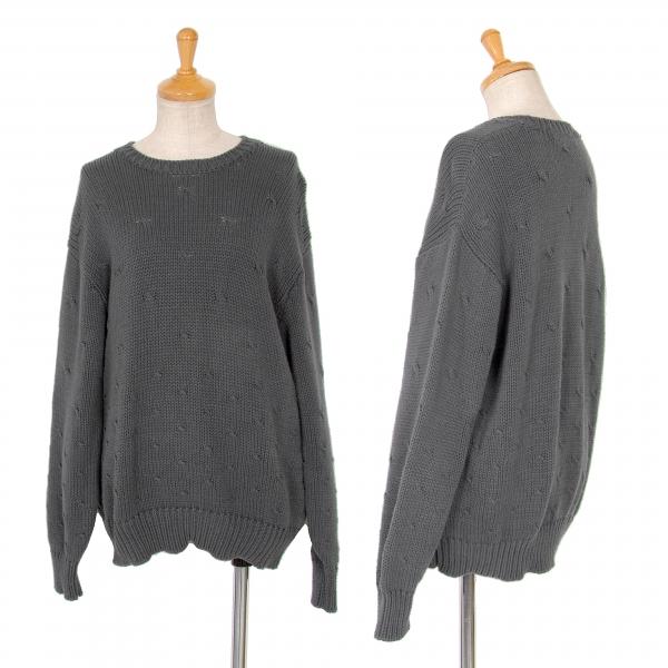 Tricot COMME des GARCONS Pattern Design Knit Größe S-M(K-65739)