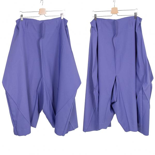 ISSEY MIYAKE 132 5. Fold Design Wide Pants Size 3(K-65823)