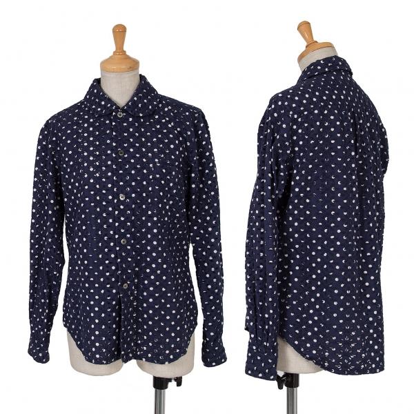 COMME des GARCONS Embroidery Long Sleeve Shirt Größe S(K-65852)