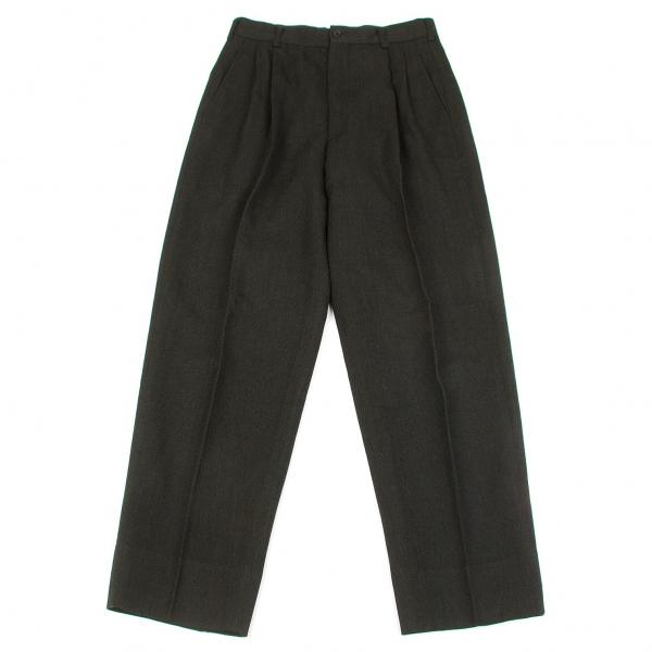 COMME des GARCONS HOMME PLUS Herringbone Wool Pants Size S(K-66007)