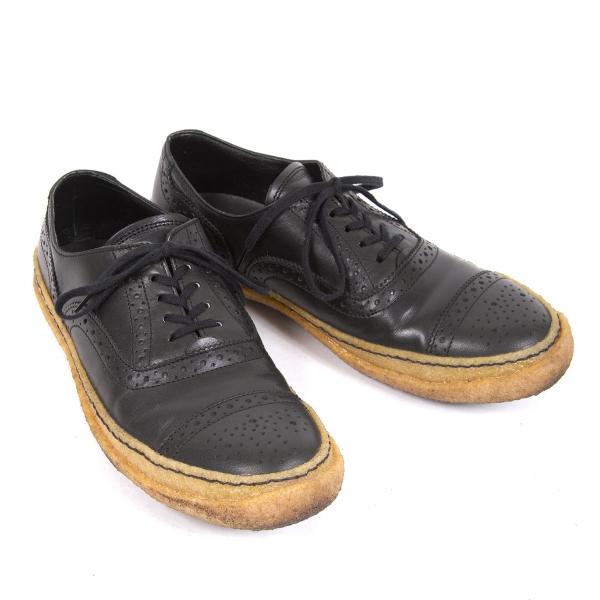 COMME des GARCONS HOMME DEUX Bout D'Aile Chaussures Taille US 8.5 (K-66534)