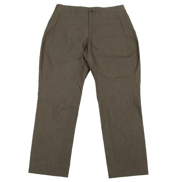 ISSEY-MIYAKE-HaaT-Cotton-Poly-Cropped-Pants-Size-2-K-67033