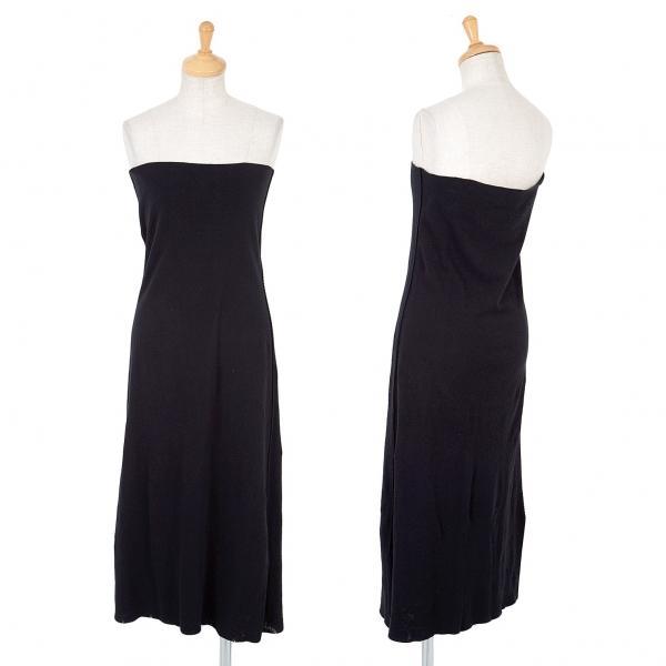 イッセイミヤケ エーポックISSEY MIYAKE A-POC デザイン織りチューブスカート 黒2