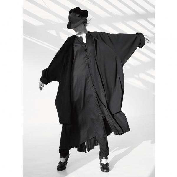 新品!ヨウジヤマモト ノアールYohji Yamamoto NOIR ウールギャバポケットデザインハット 黒