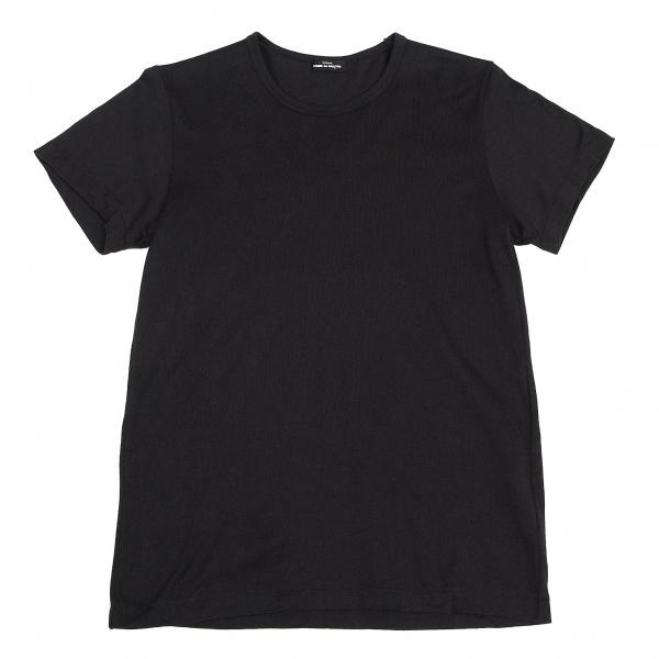 トリココムデギャルソンtricot COMME des GARCONS コットン天竺ベーシックTシャツ 黒M位