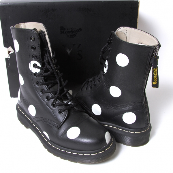 Y's Dr.Martens 10 EYE BOOT _ DOTS Boots