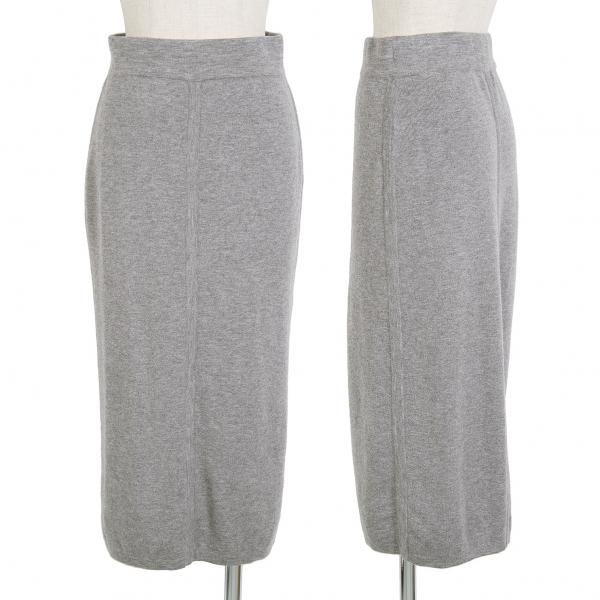 DEMYLEE Wool Rib Knit kjol Storlek S (K -68336)