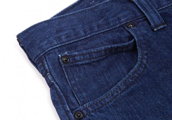 ISSEY-MIYAKE-MEN-Lee-Polka-dot-Printed-Jeans-Size-29-K-68780 thumbnail 5