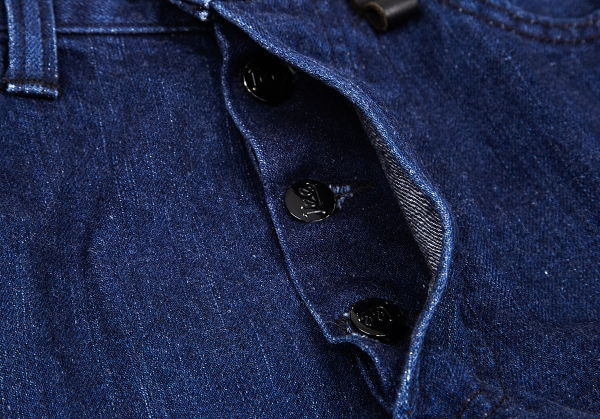 ISSEY-MIYAKE-MEN-Lee-Polka-dot-Printed-Jeans-Size-29-K-68780 thumbnail 6