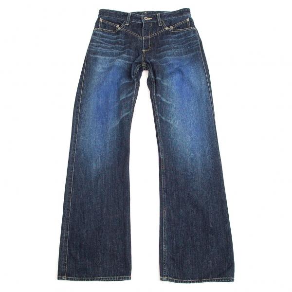 ISSEY-MIYAKE-MEN-Blue-Printed-Jeans-Size-1-K-68957 thumbnail 2