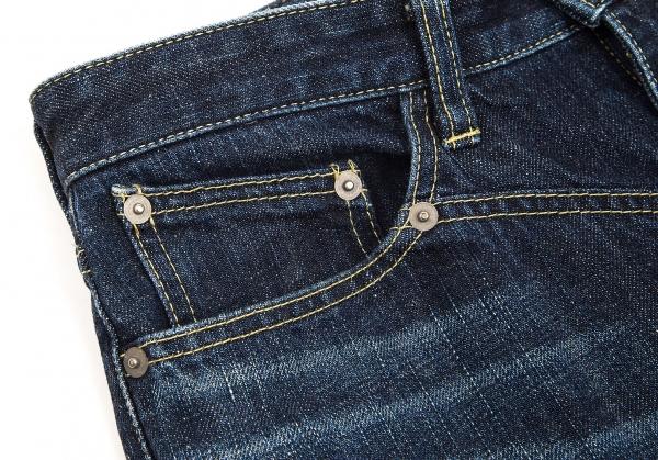 ISSEY-MIYAKE-MEN-Blue-Printed-Jeans-Size-1-K-68957 thumbnail 4