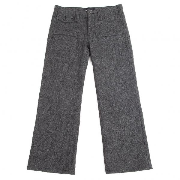 tricot COMME des GARCONS Washer Design Wool Pants Size M(K-69225)