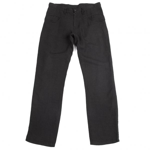 Y &  039;s tensel Lino Pantalones Talla 1 (K-69349)  los últimos modelos