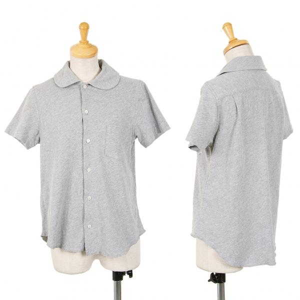Tricot COMME des GARCONS Coton Shirt à Manches Courtes Taille S (K-69640)