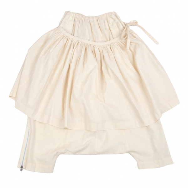 COMME des GARCONS Dropped Crotch Pants Ivory S-M