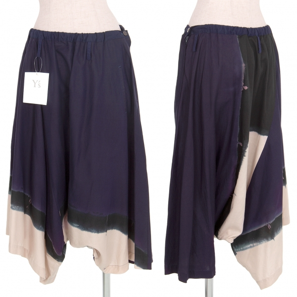 Y-039-s-Dyed-Switching-Dropped-Crotch-Pants-Size-2-K-74743
