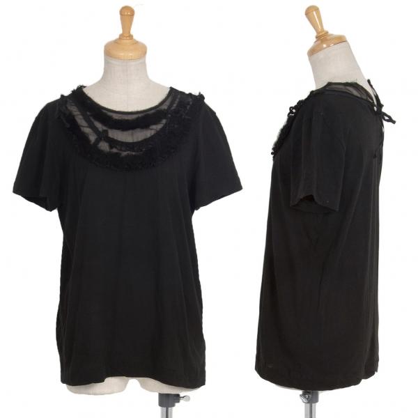 tricot COMME des GARCONS Switched Design T Shirt Black XS-S