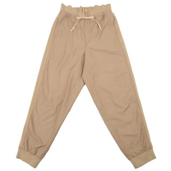 ISSEY MIYAKE Rib Switched Pants Size 9(K-77099)