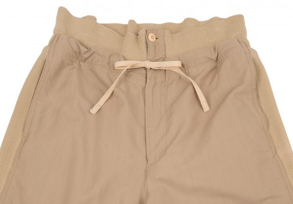 thumbnail 2 - ISSEY MIYAKE Rib Switched Pants Size 9(K-77099)