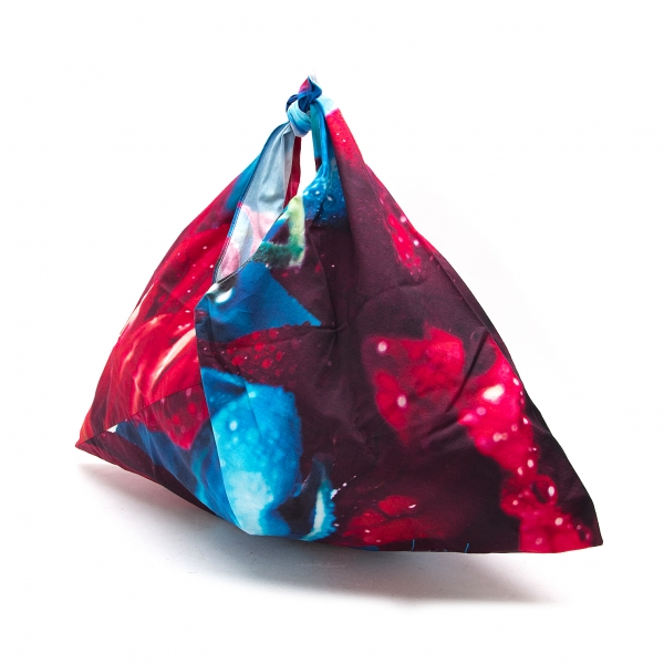 Yohji Yamamoto discord x Mika Ninagawa Furoshiki Bag Multi-Color