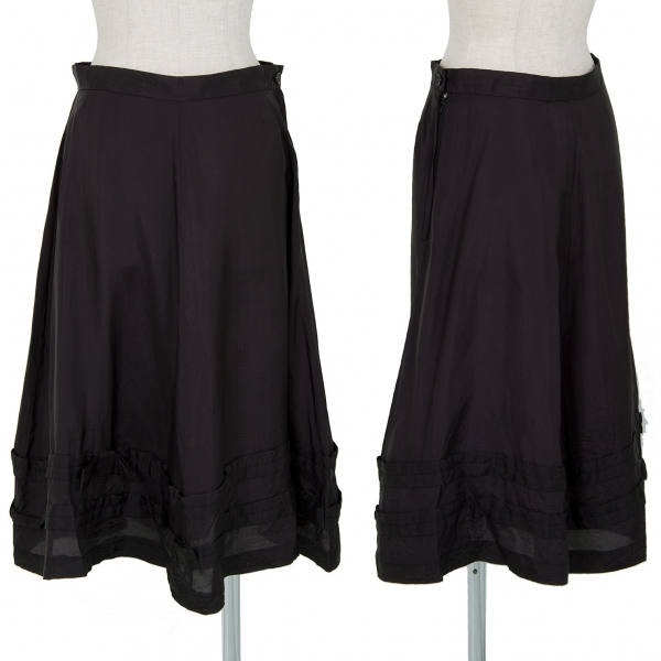 robe de chambre COMME des GARCONS Ribbon Tape Design Skirt Black L