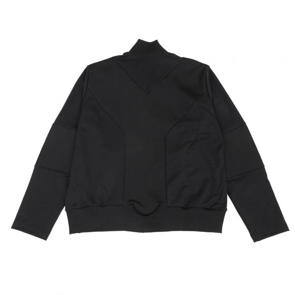 ワイスリーY-3 リブ切替デザイントラックジャケット 黒XXL