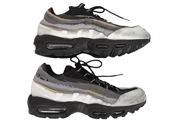 COMME des GARCONS HOMME PLUS x NIKE AIR MAX 95 Sneaker Grey US 10 ...